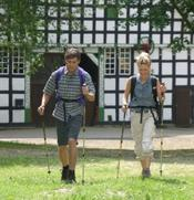 NordicWalking-Pärchen
