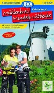 Radwanderkarte Minden-Lübbecke