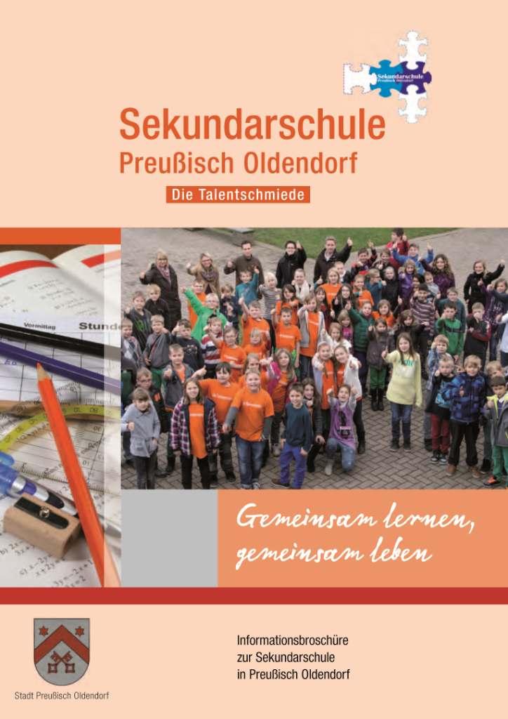 Broschüre Sekundarschule_Titel