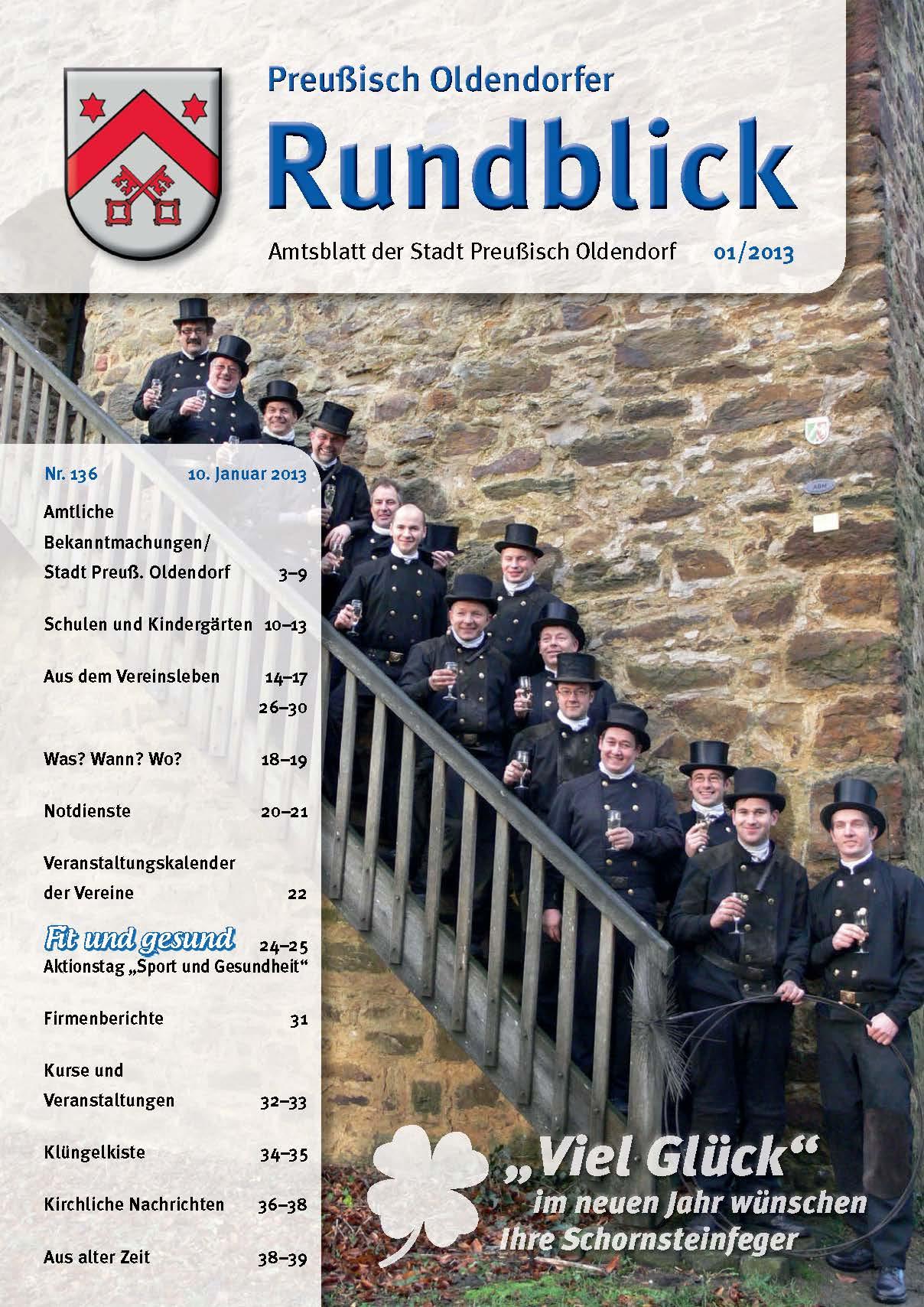 Rundblick 1-2013 Titel