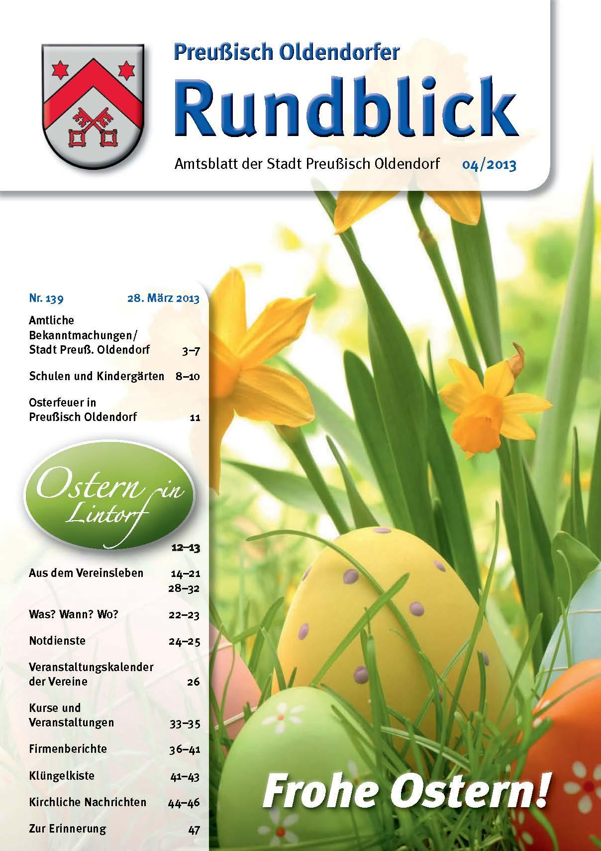 Rundblick 4-2013 Titel