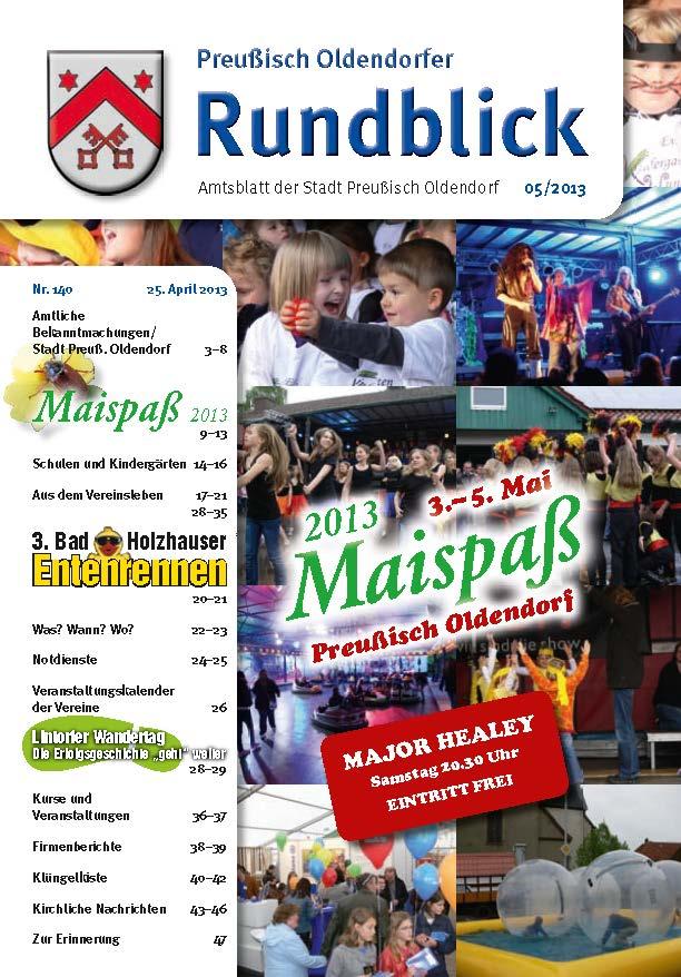 Rundblick 5-2013 Titel