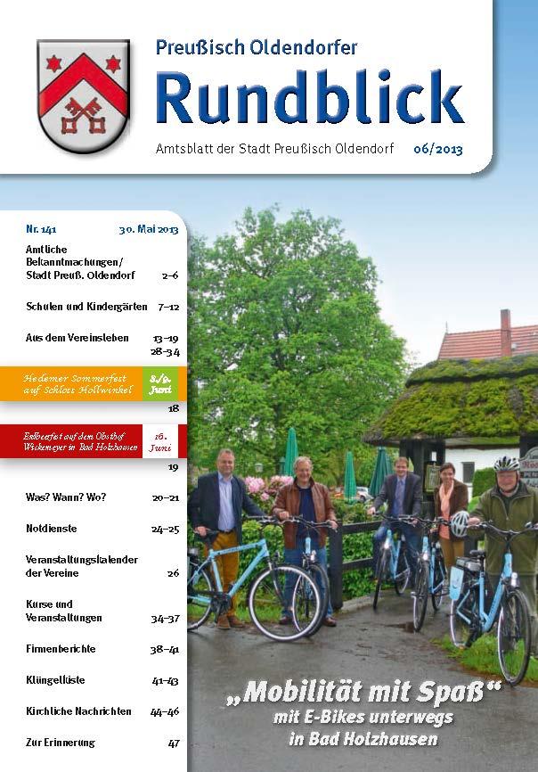 Rundblick 6-2013 Titel