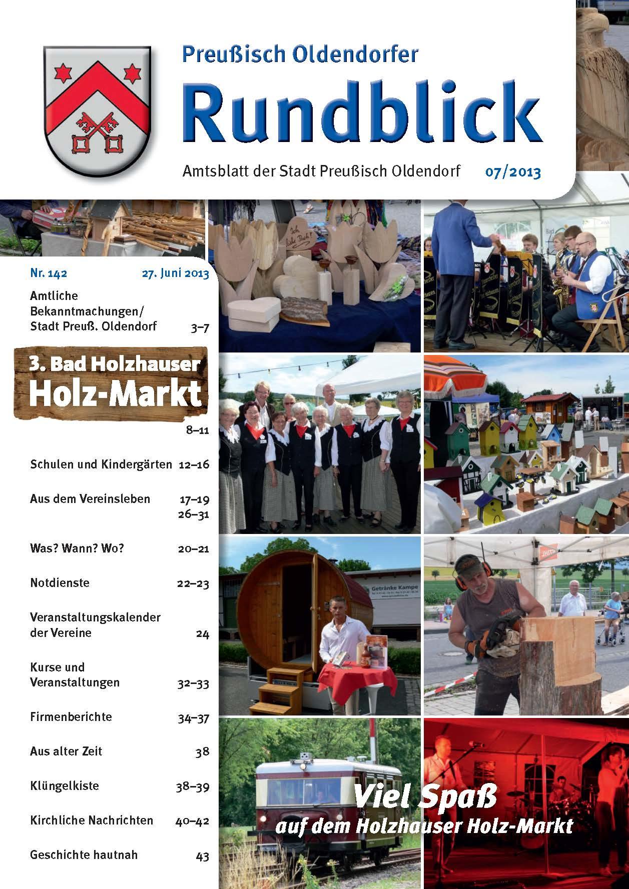 Rundblick 7-2013 Titel