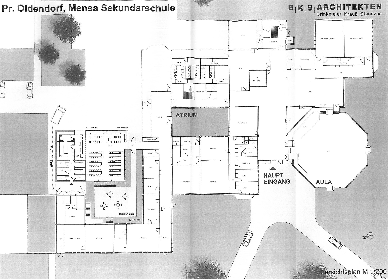 Planentwurf Mensa Sekundarschule_01