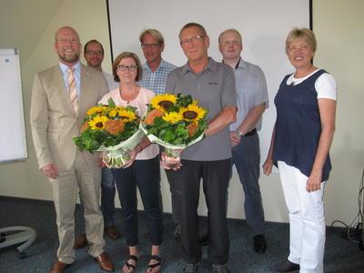 25 Jahre bei der Stadt Preu�isch Oldendorf besch�ftigt