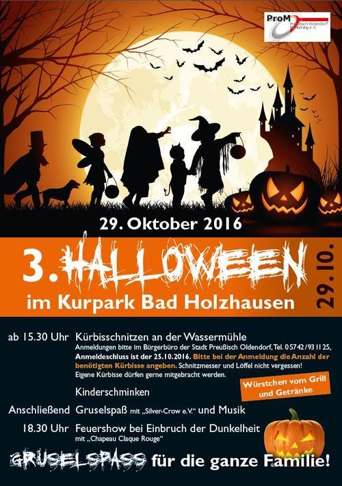 Halloween Kurpark 2016