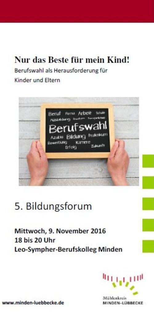 Bildungsforum 2016