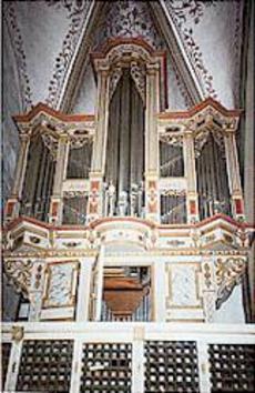 Barock-Orgel Pr. Oldendorf
